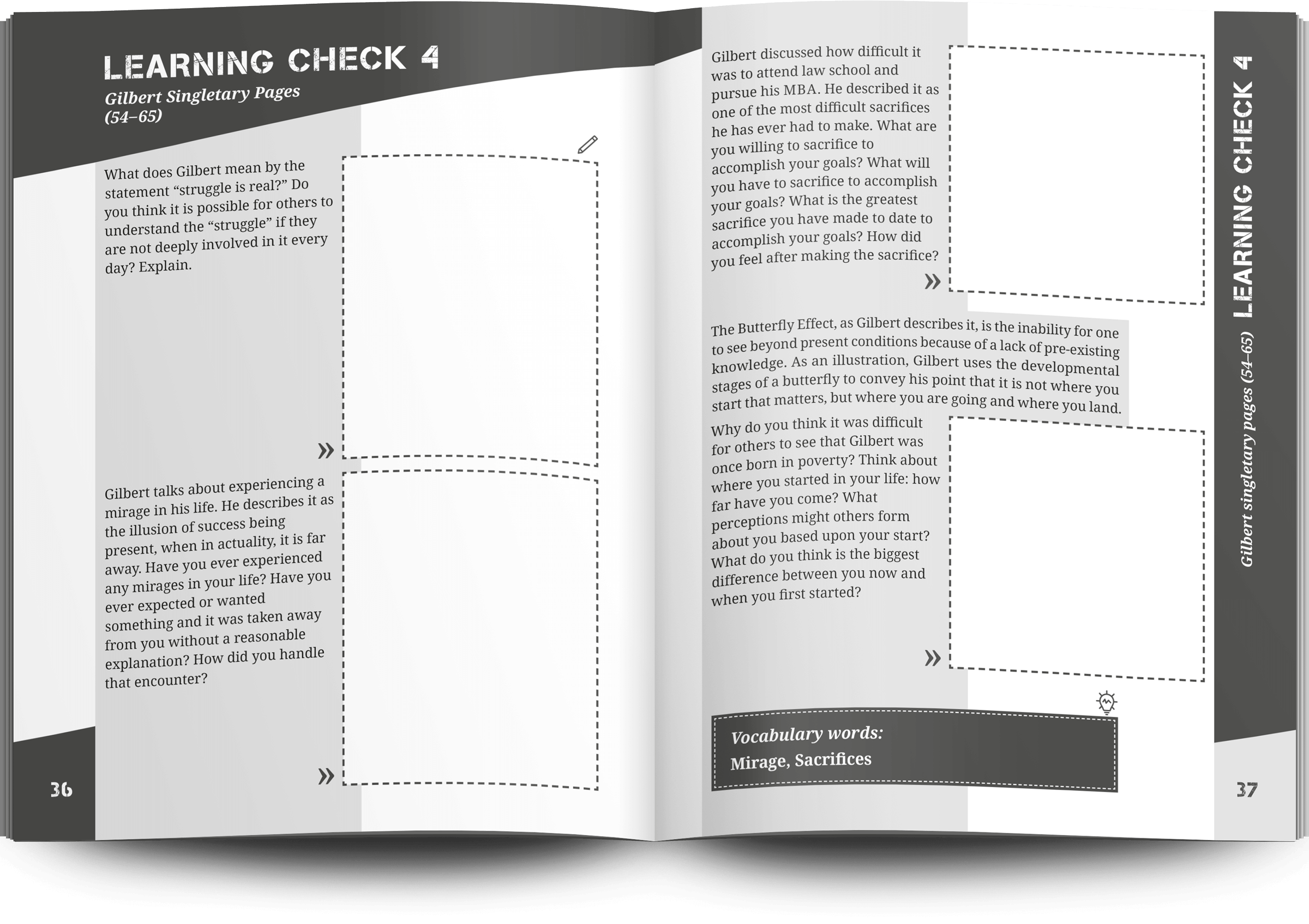double-page spread layout